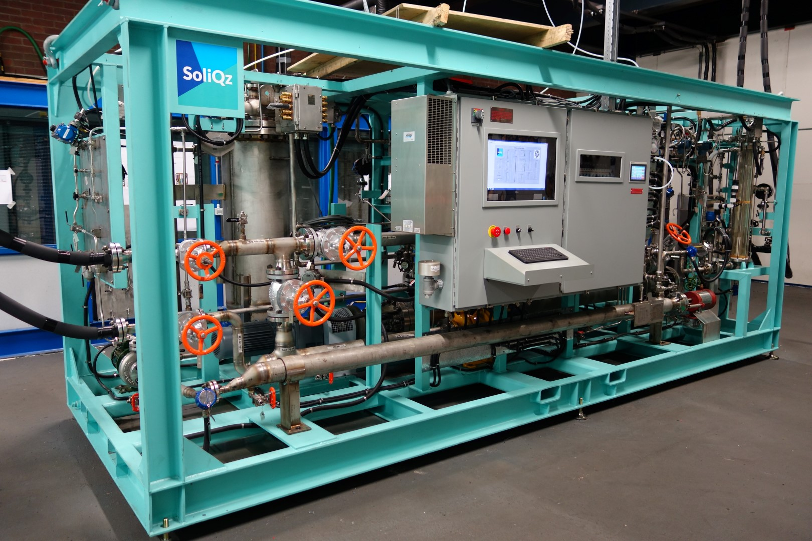 Plant One Rotterdam Soliqz fabriek machine