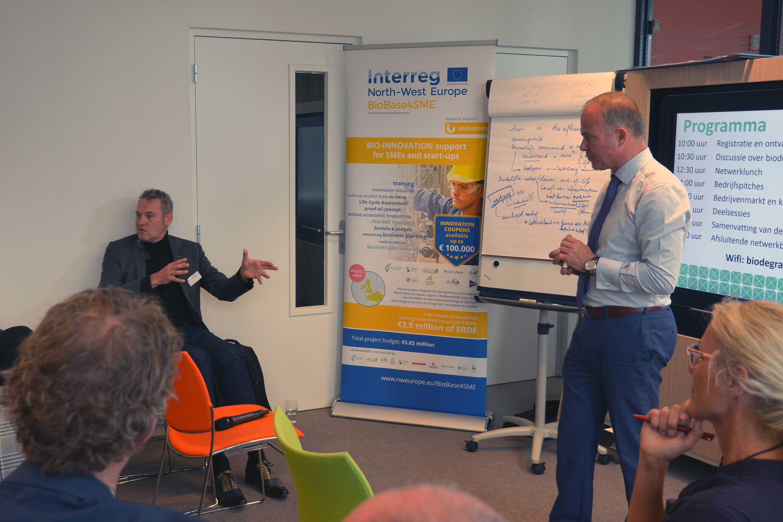 Discussie tijdens Biodegradable Plastics Event