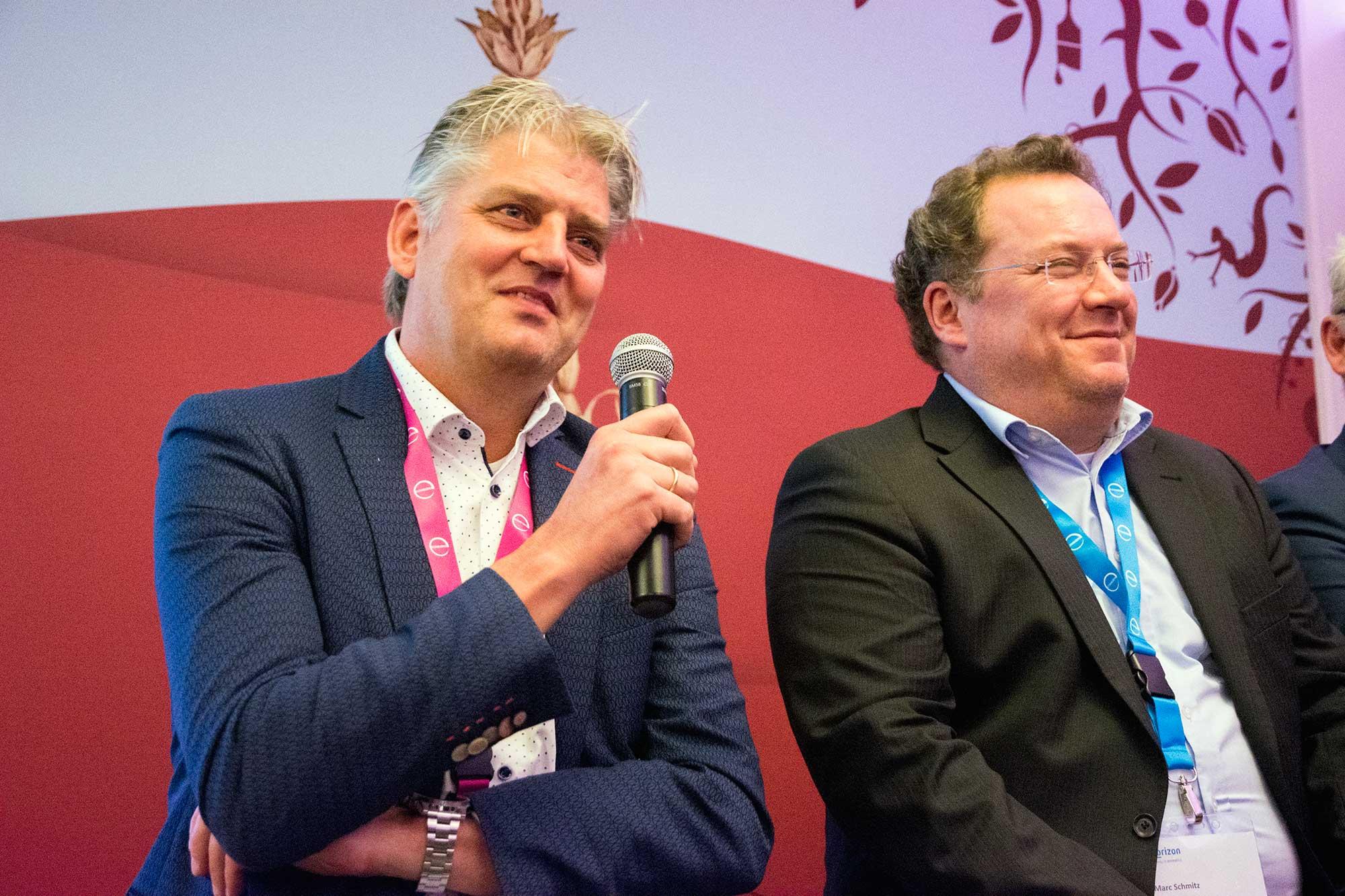 Bert van de Beld en Marc Schmitz