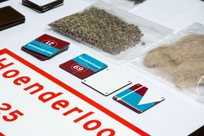 Biobased verkeersbordjes van HR Groep
