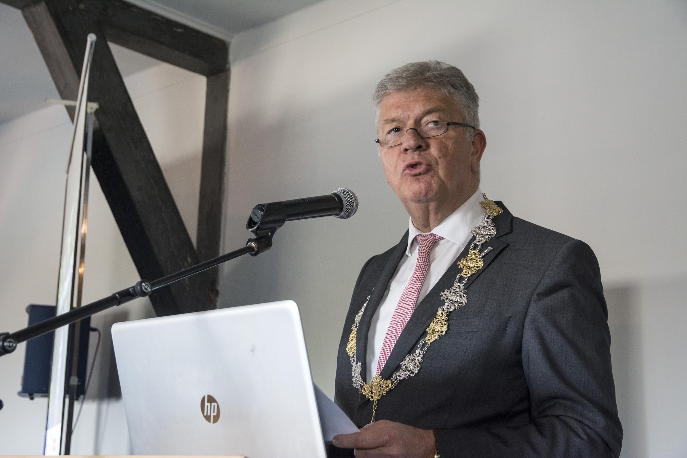 Frank Petter, burgemeester Bergen op Zoom