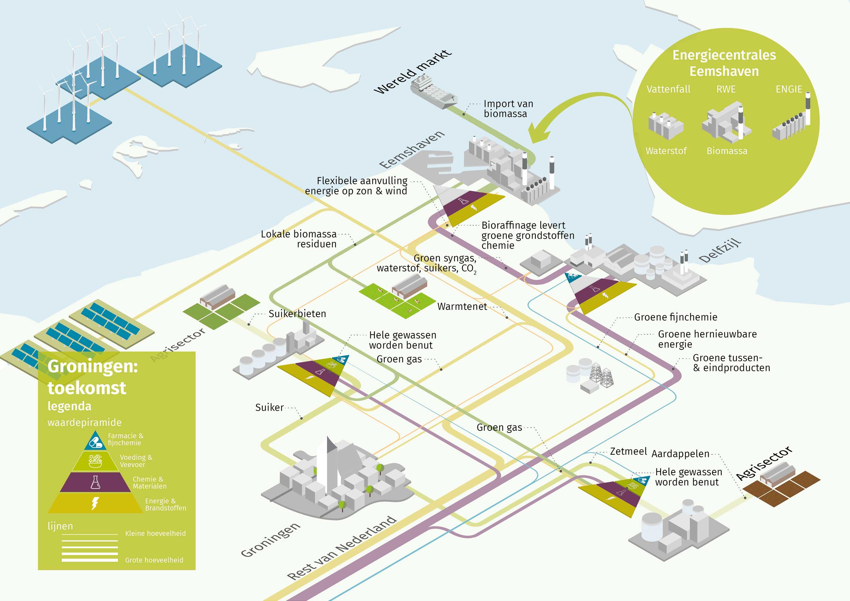 Infographic Biomassa in Groningen