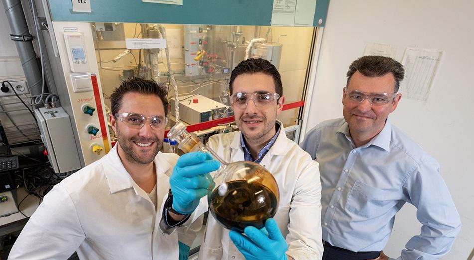 Het team van Vertoro (v.l.n.r. Michael Boot (CEO), Panos Kouris (CTO) en Prof. Emiel