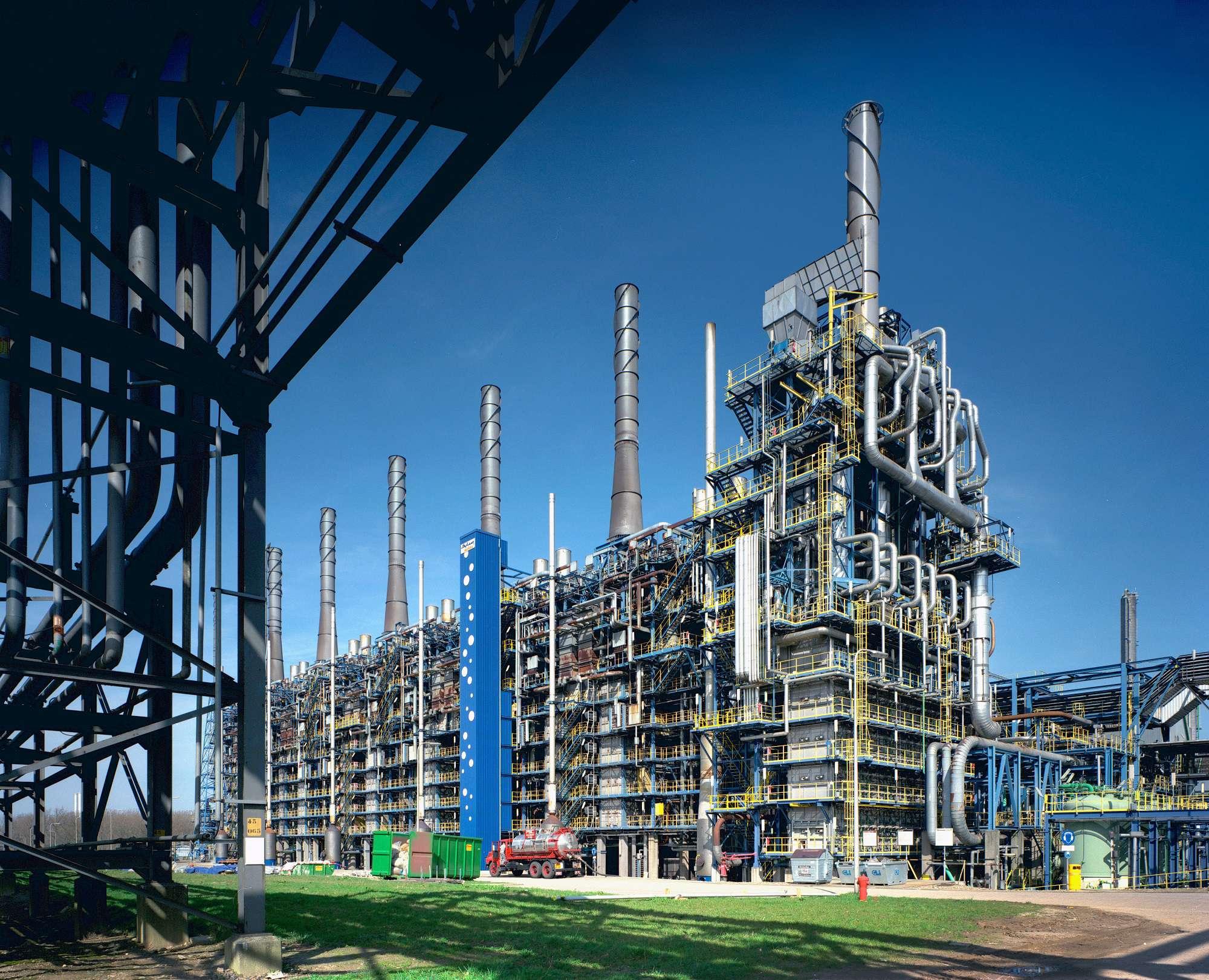 Naftakraker van SABIC in Geleen