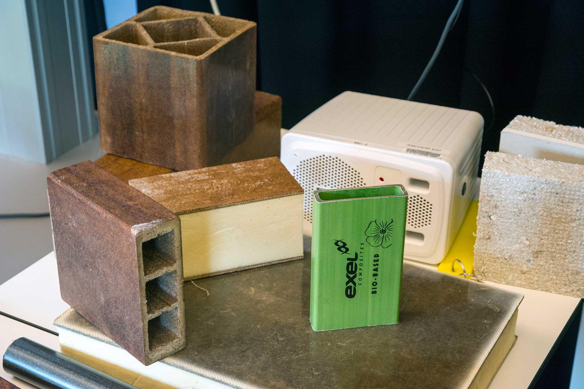 Bobased bouwmaterialen Tiny House Emmen
