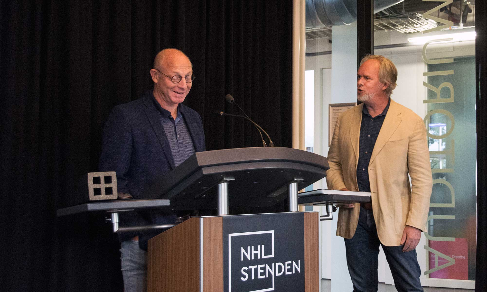 Henk Loves (Bioframe) en Daan van Rooijen