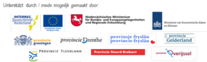 Logo's partners in EDR-project Bio-Economie Non-Food Biomass