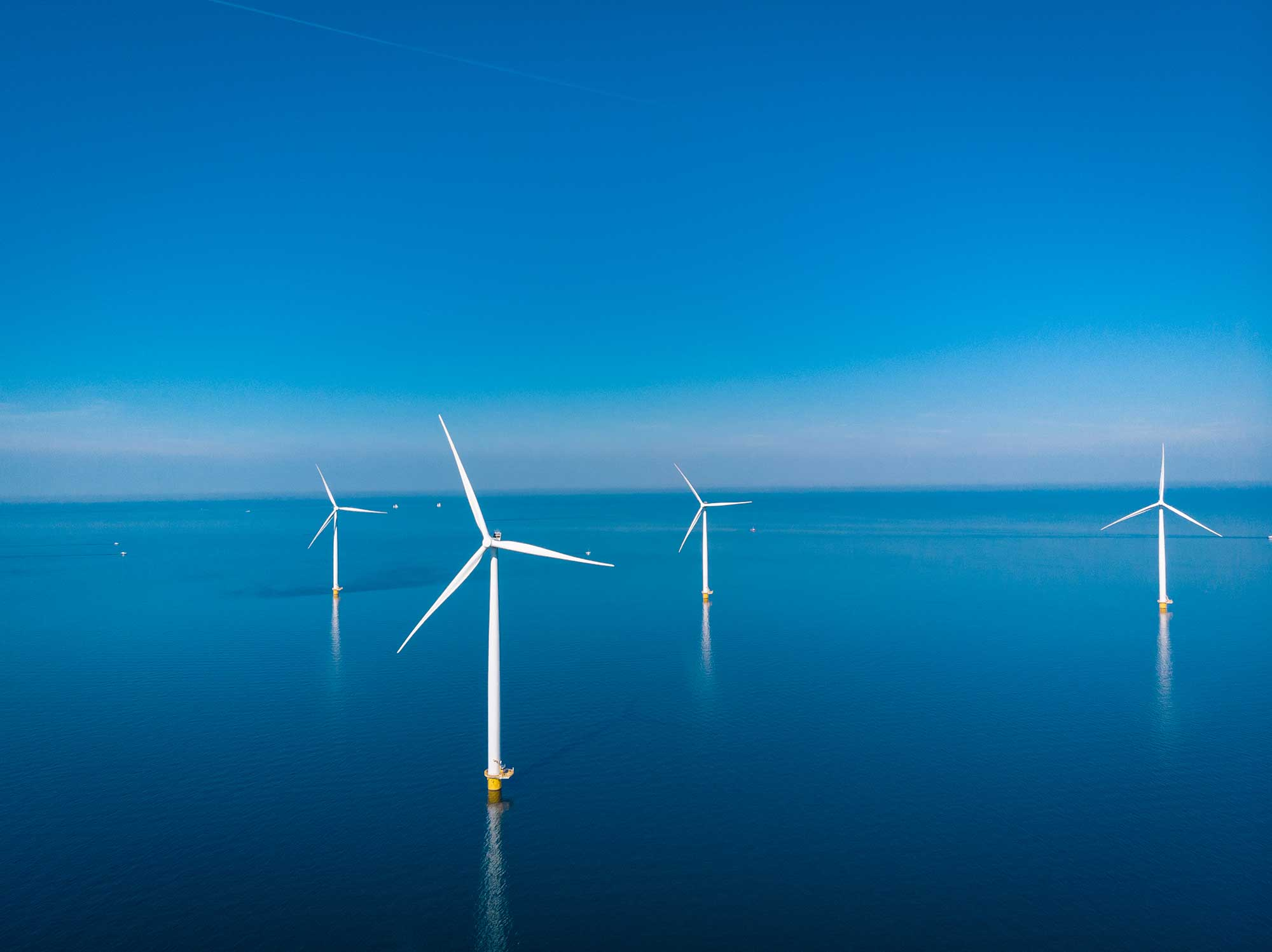 Westermeerwind windmolenpark op zee