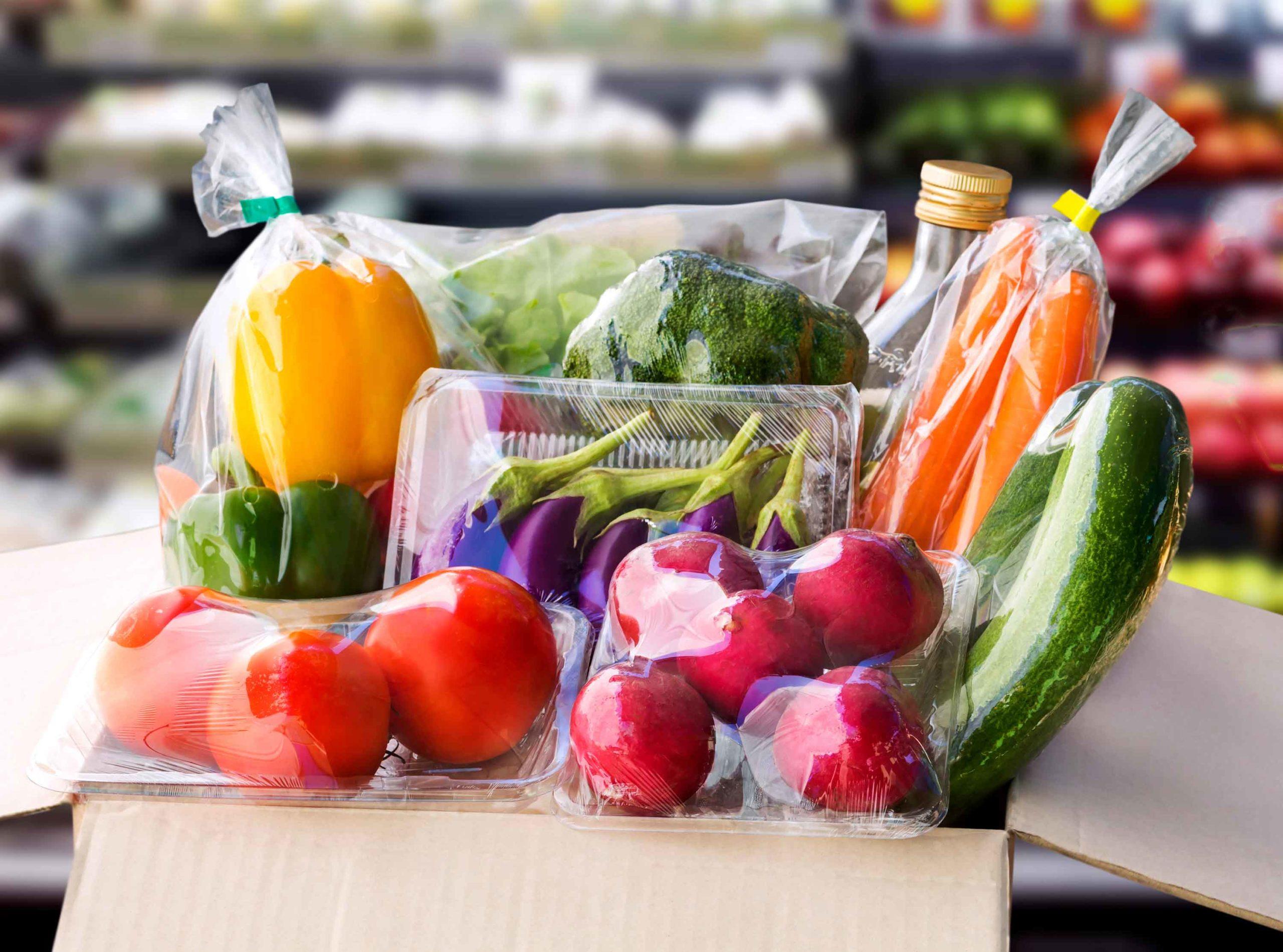 Vegetables-in-plastic