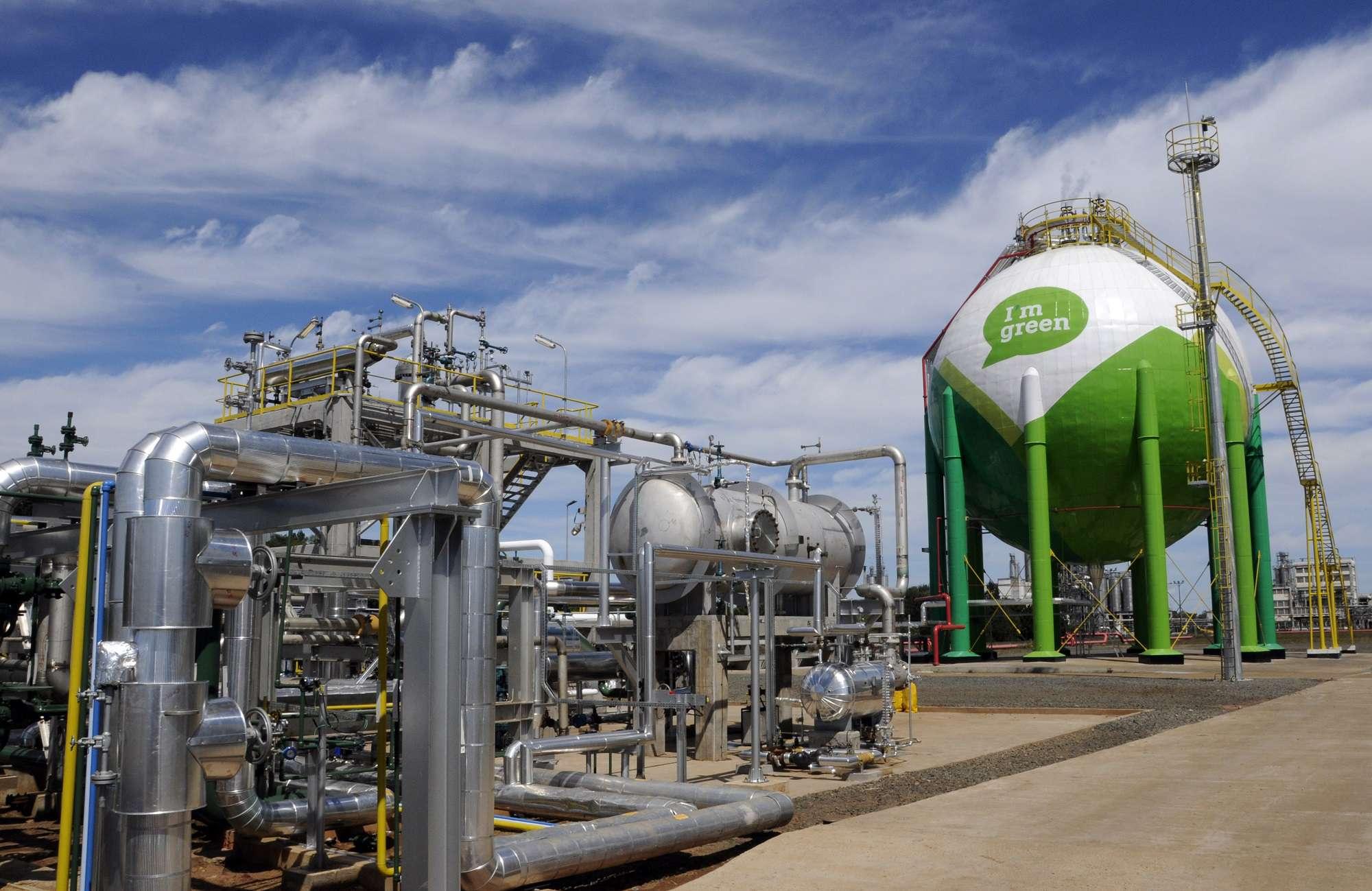 BRASKEM Planta de Eteno Verde - Triunfo RS Foto: Mathias Cramer/temporealfoto.com