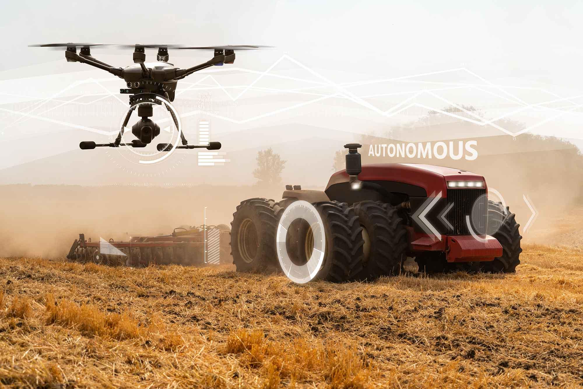 Zelfrijdende tractor