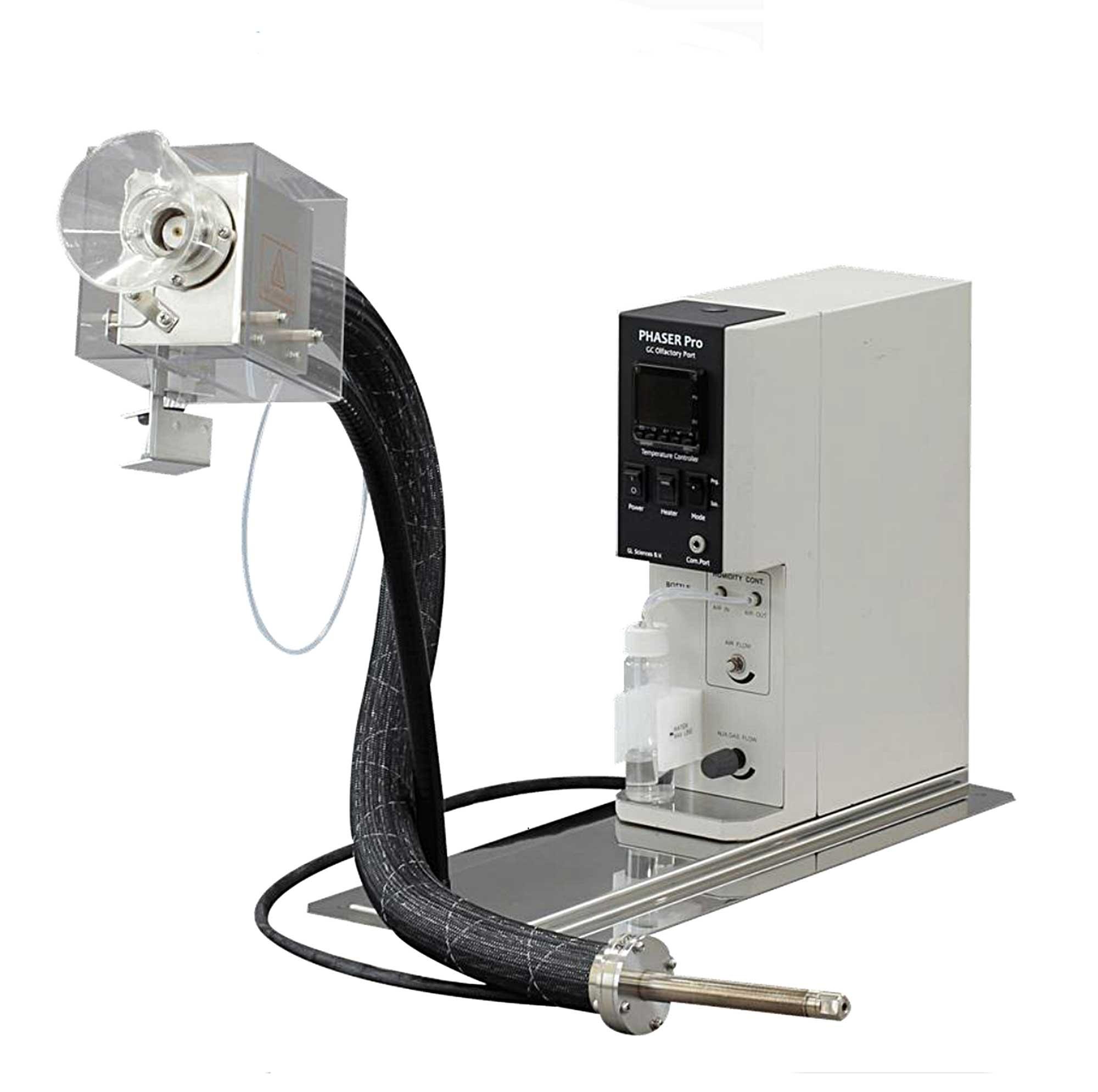 Olfactorische detectie-poort voor gaschromatografie (beeld: Phaser, GL Sciences)