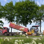 Bioasfalt proefvak aanleg