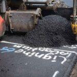 Bioasfalt met lignine aanleg proefvak