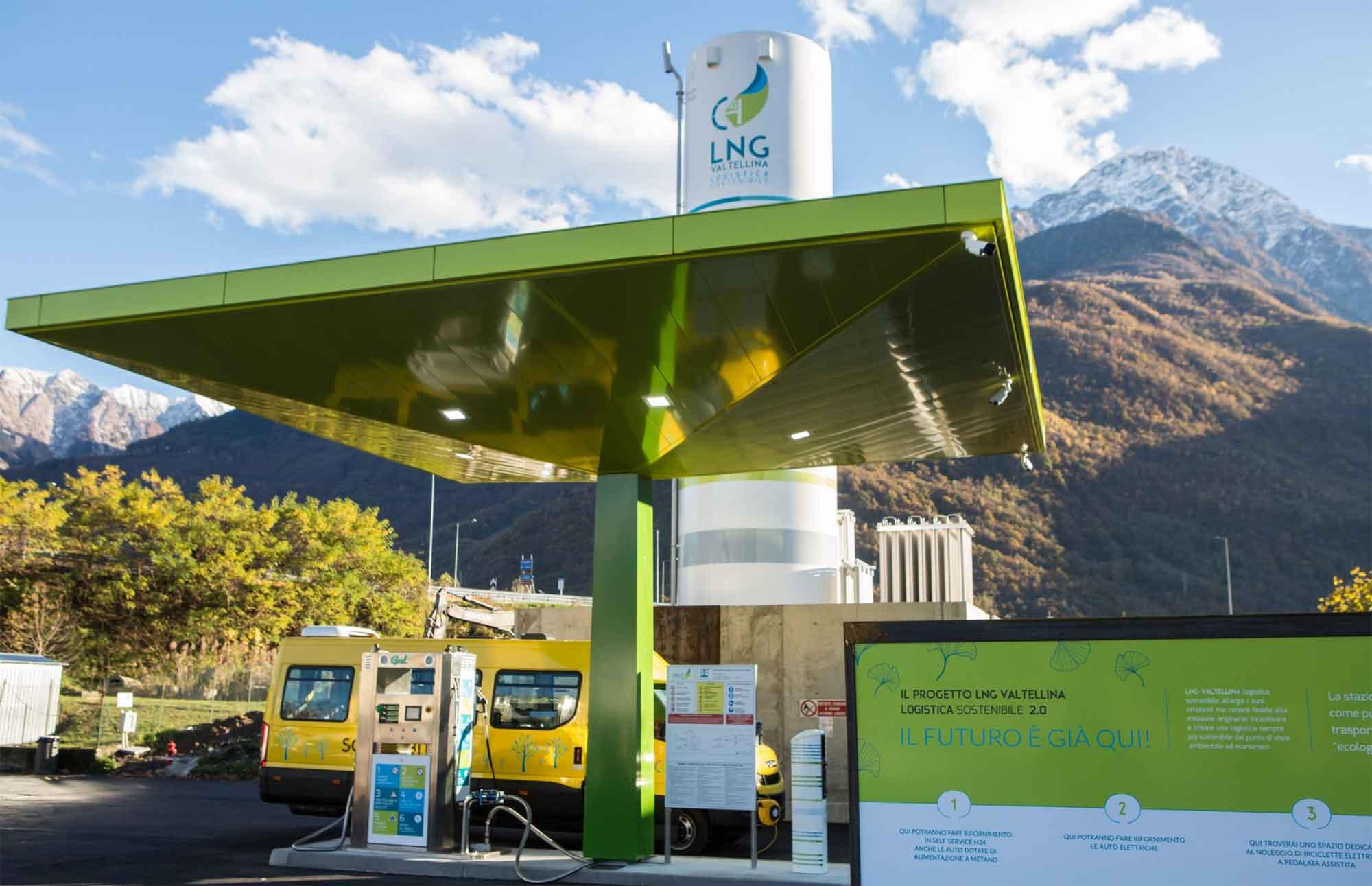 LNG Tankstation